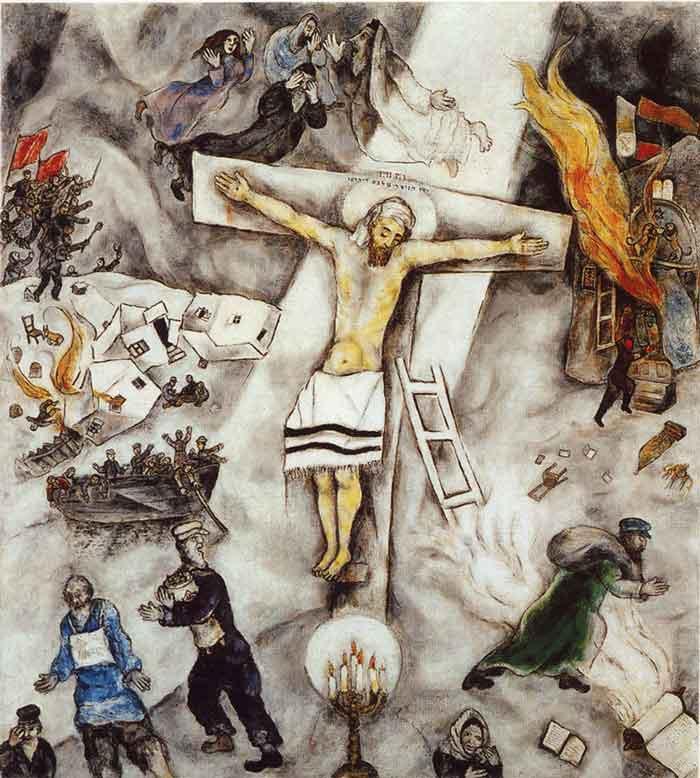 Crocifissione bianca di Chagall