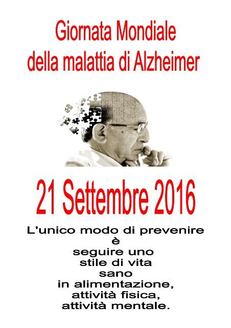 Giornata Mondiale dell'Alzheimer Messina